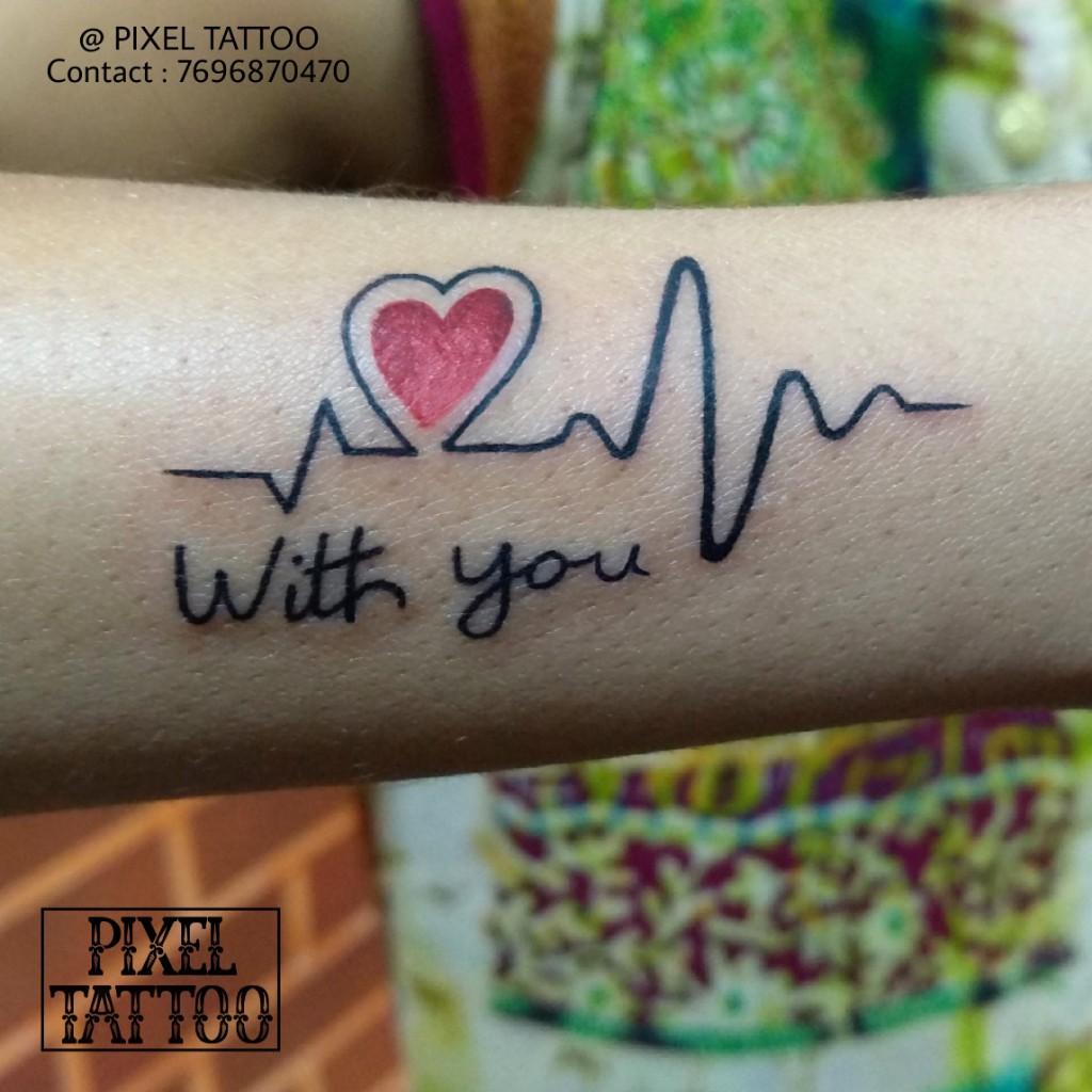 Heart-beat-Tattoo