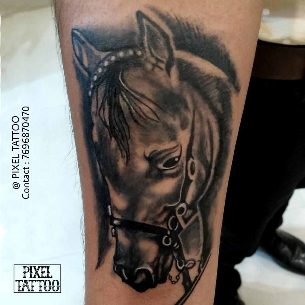 Horse-tattoo