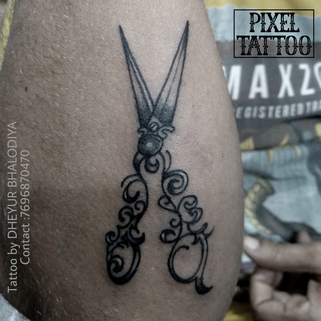 Scissors-Tattoo
