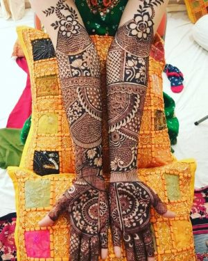 Beautiful Bridal Latest Mehendi Designs
