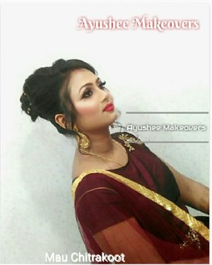 Party Makeup & Hairstyle